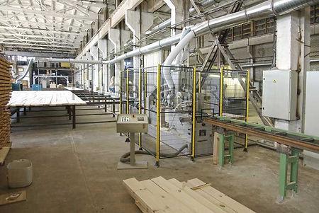 Цех по производству клеёного бруса