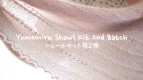 Yumemiru Shawl Kit 2nd Batch