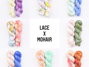 Lace x Mohair