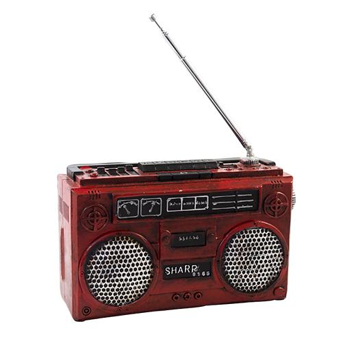 Radio  Vermelho Vintage