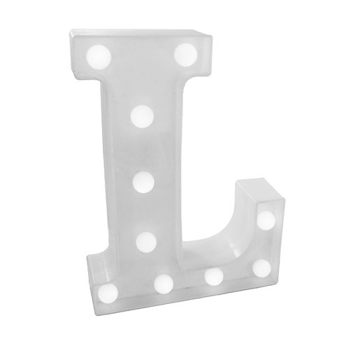 "Luminoso Letra ""L"""