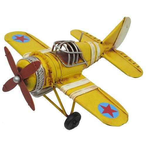 Avião Estrela Amarela