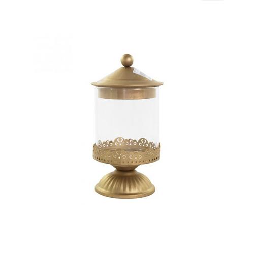 Bomboniere Chandelier Ouro Pequena