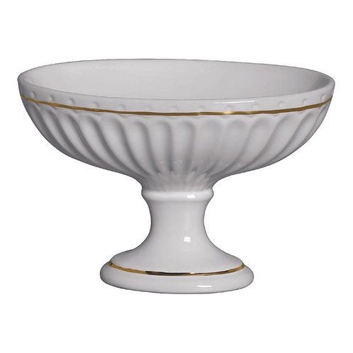 Taça Oval Filete de Ouro