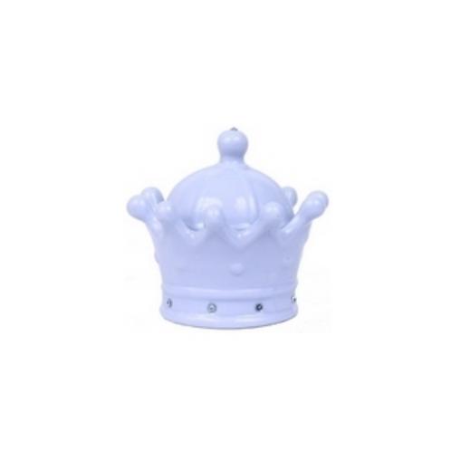Coroa Porcelana Azul Pequena