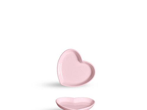 Bandeja Coração Rosa M