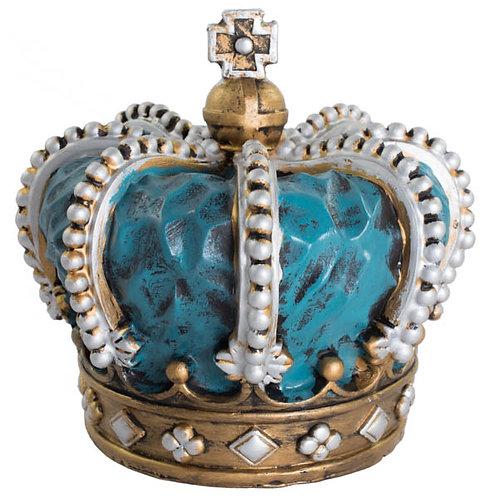 Coroa de Resina Azul