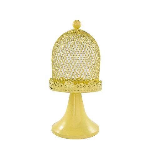Mini Gaiola com Base Amarela