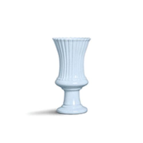 Taça Rendada Frisos Azul G