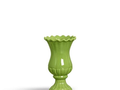 Vaso Babado Verde M