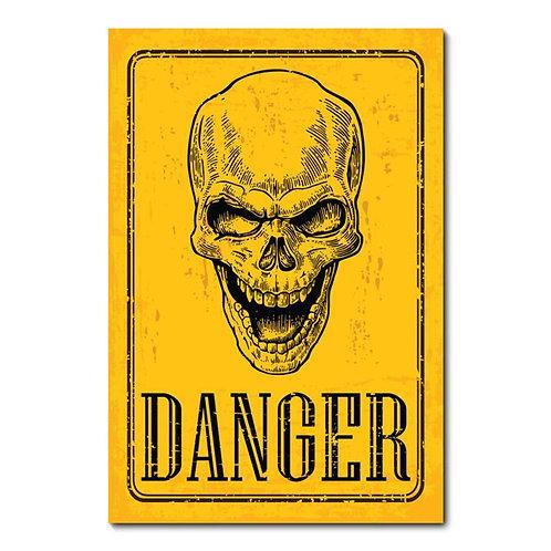 Placa Danger