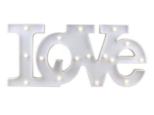 Luminária Love Branca