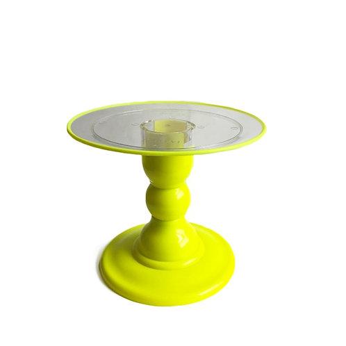 Suporte de Doce Amarelo Neon