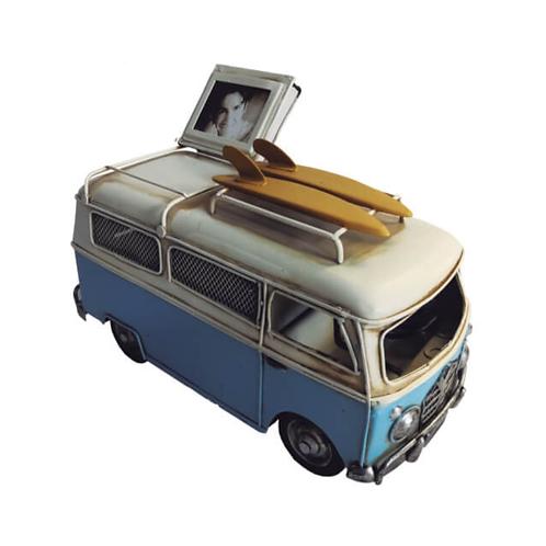 Van Kombi Surf Azul