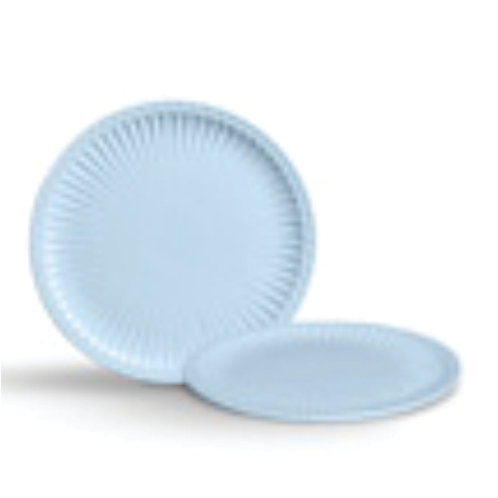 Prato Cerâmica Baixo Azul M