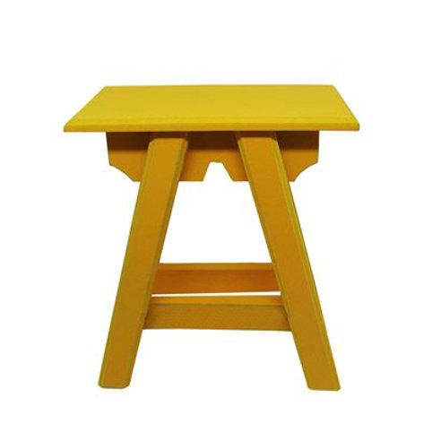 Banquinho Chinês Amarelo