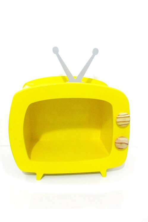 Tv MDF Amarela