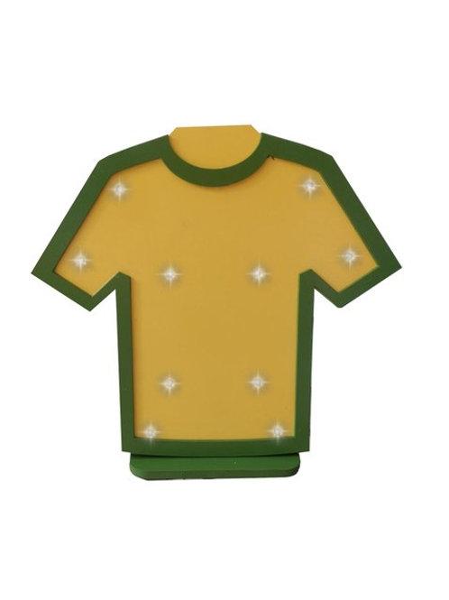 Luminoso Camiseta Amarela