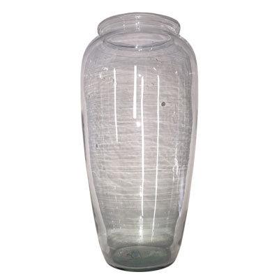 Glasvase buket Oval H:28 cm.