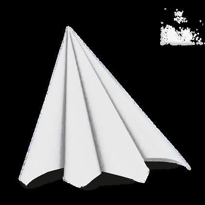 Dunilin servietter 45 stk. /40x40cm. Hvid