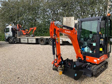 Endnu en ny maskine leveret til Centrum Maskinudlejning.