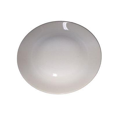 Hvide tallerkner, forret 21 cm.