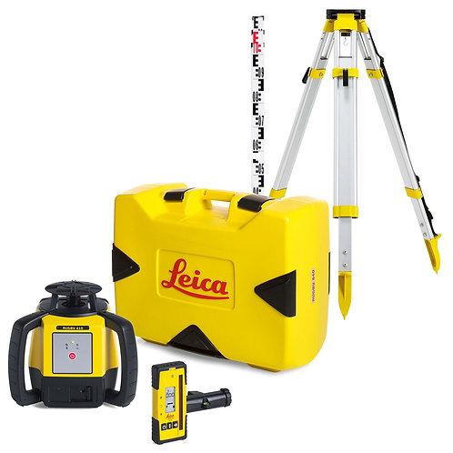 Dagsleje Leica rotationslaser med stativ og modtager