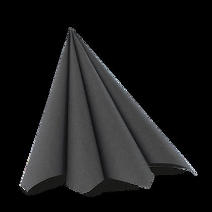 Dunilin servietter 45 stk. /40x40cm. Granit grå