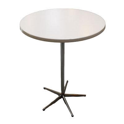 Cafébord Ø80 cm. H:74 cm.