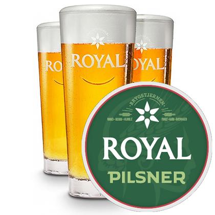 Royal Pilsner 4,6% - 30 ltr. fustage