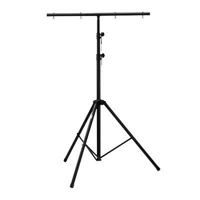 Lysstativ med t-bar (Bæreevne:45kg/3,5mtr) | Også til Snemaskine