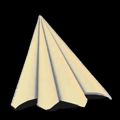 Dunilin servietter 45 stk. /40x40cm. Butter