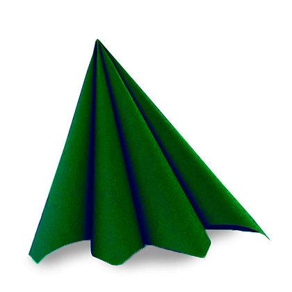 Dunilin servietter 45 stk. /40x40cm. Mørkegrøn