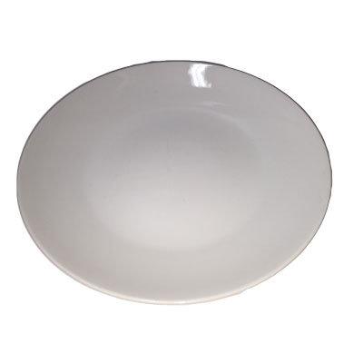Hvide tallerkner, flade 24 cm.