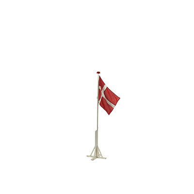 Bordflagstang med flag