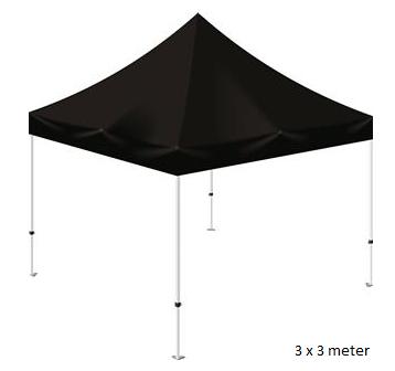 Grill telt 3 x 3 mtr. (Brandhæmmende materiale)