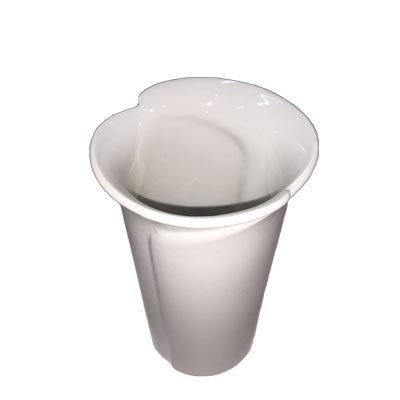 Vaser hvide stor H:20 cm.