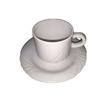 Musling kaffekopper m. underkop