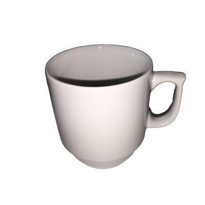 Hvide kaffekrus