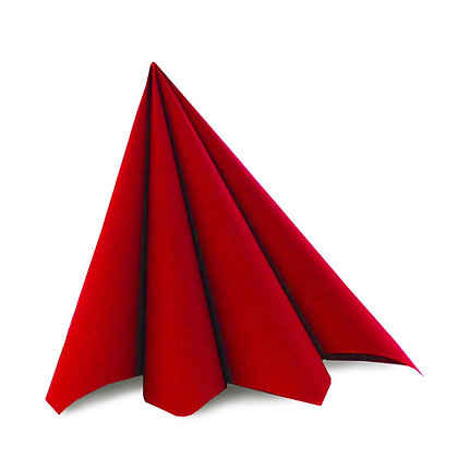 Dunilin servietter 45 stk. /40x40cm. Red