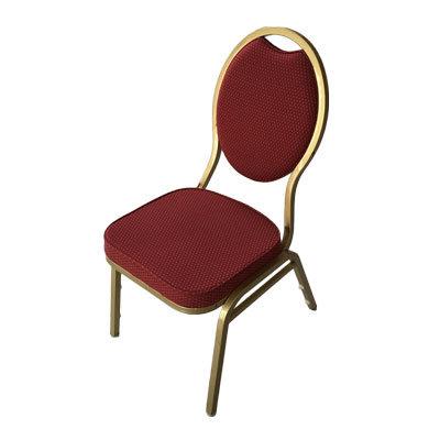 Stabelstole Guld/Kongerød