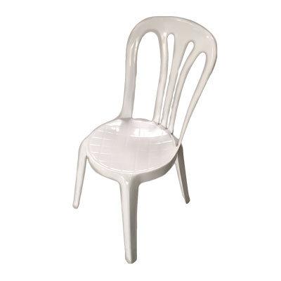 Stabelstole Hvide Plast