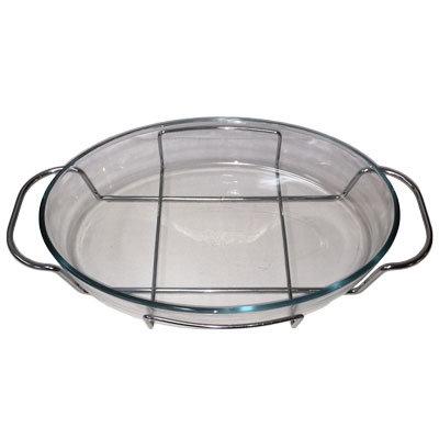 Glasfade ildfast m/stativ 35 cm.