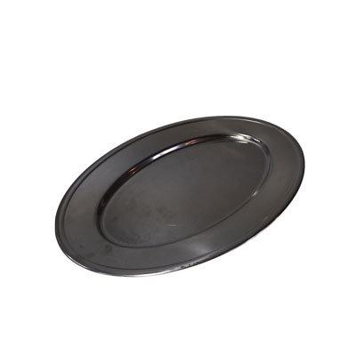 Rustfri stålfade Aflang L:36 cm.