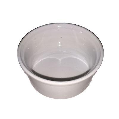 Hvide Souffleskåle 9 cm.