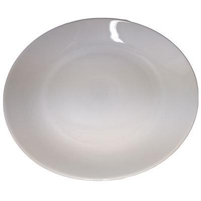 Hvide fade runde 30 cm.