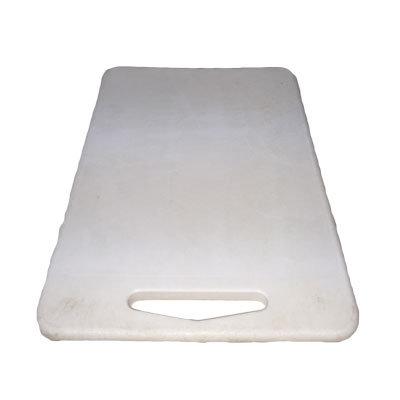 Skærebrædt Plast hvid 45 cm.