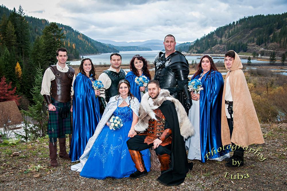 theme medieval wedding