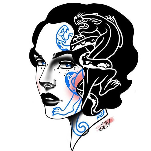 Snake & Panther Babe
