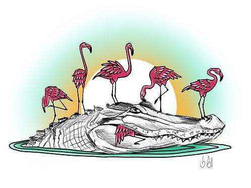 Flamingo Gator